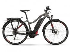 haibike sduro trekking SPEED 8.0 DAMES black titan red 3499