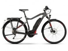 haibike sduro trekking SPEED 8.0 HEREN black titan red matt 3499