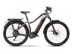 haibike sduro trekking SPEED 9.0 DAMES black titan red matt 3999