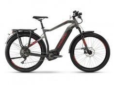 haibike sduro trekking SPEED 9.0 HEREN black titan red matt 3999